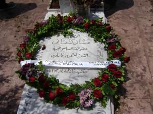 in delegazione a beirut sulla tomba di ghassan kanafani